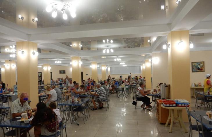 Новости про столовую в пансиаонте НИКО