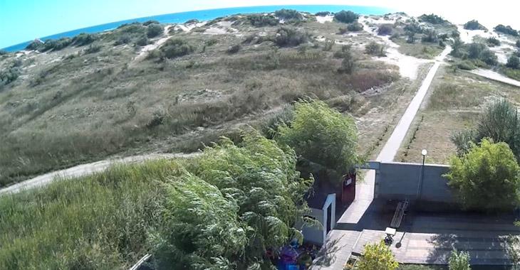 Расстояние до пляжа от пансионата НИКО